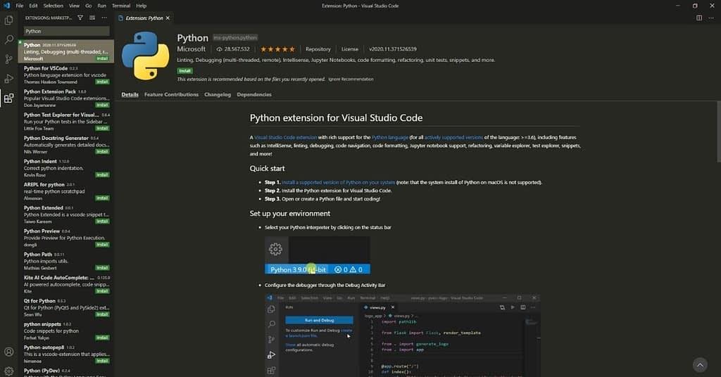 Python-Extension