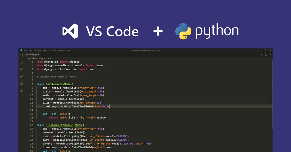 Set up Python in VS Code